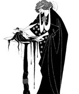 drawing by  Aubrey Beardsley