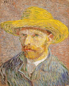 van goghs self portrait