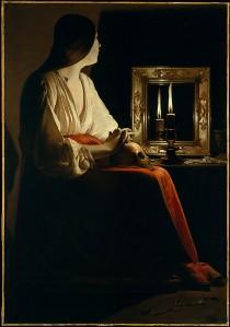 painting by: Georges de la Tour